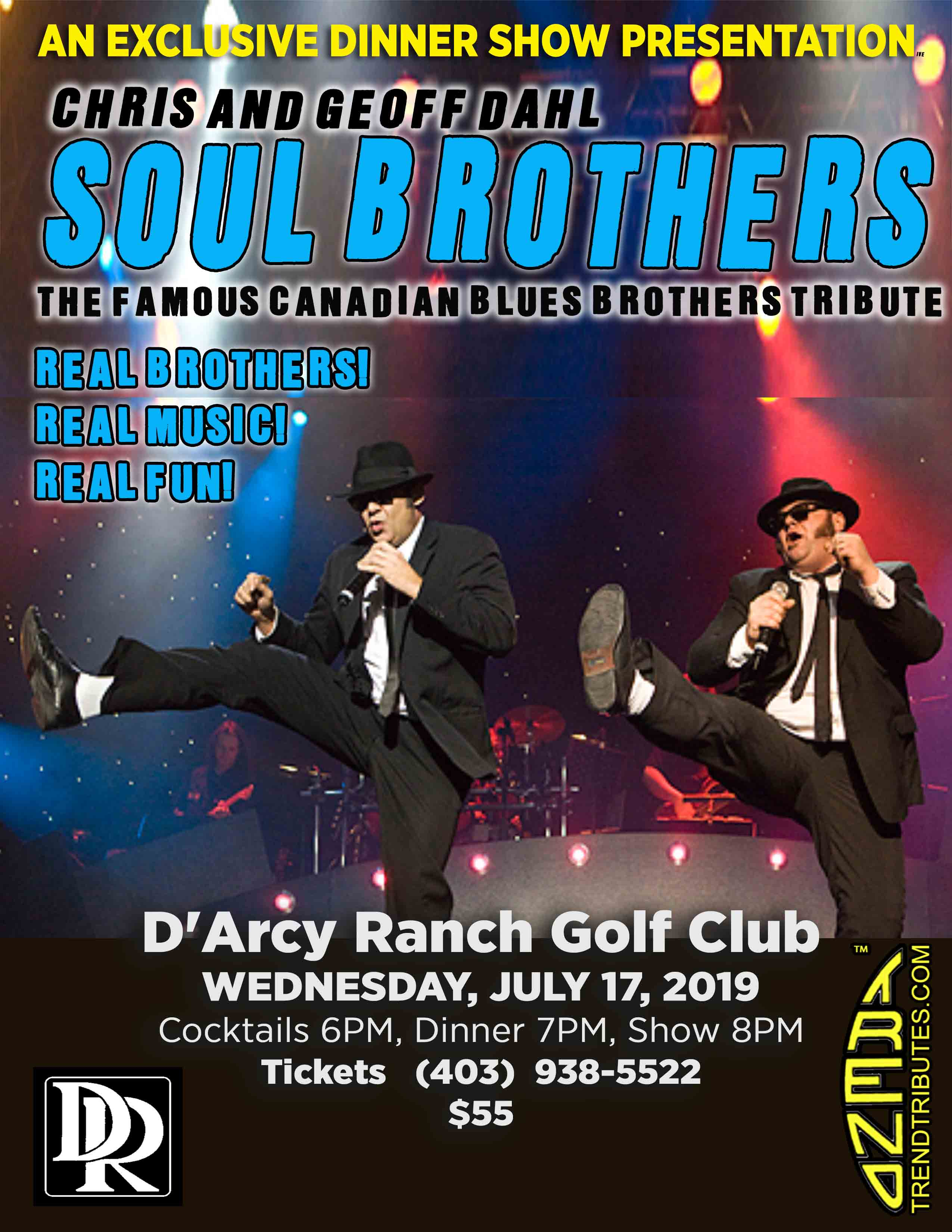 SOUL BROTHERS DARCY RANCH POSTER 8.5 X 11