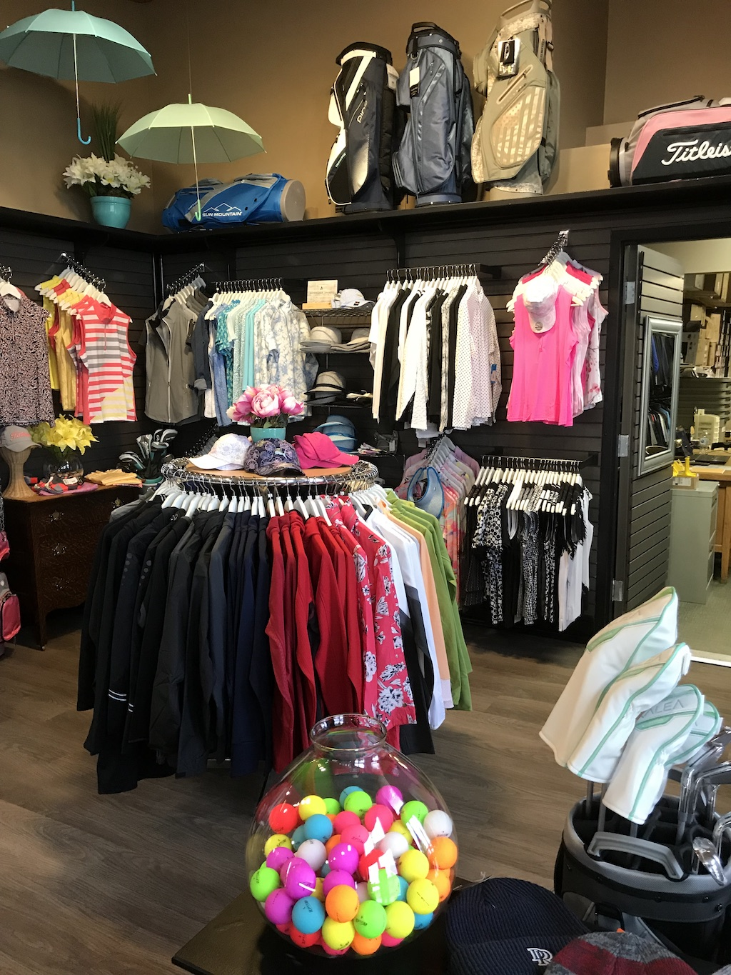 pro shop clothing