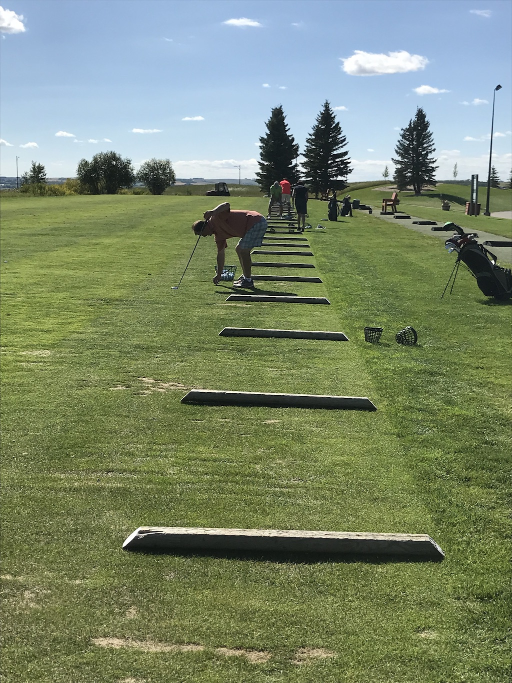 driving range at darcy ranch golf club okotoks