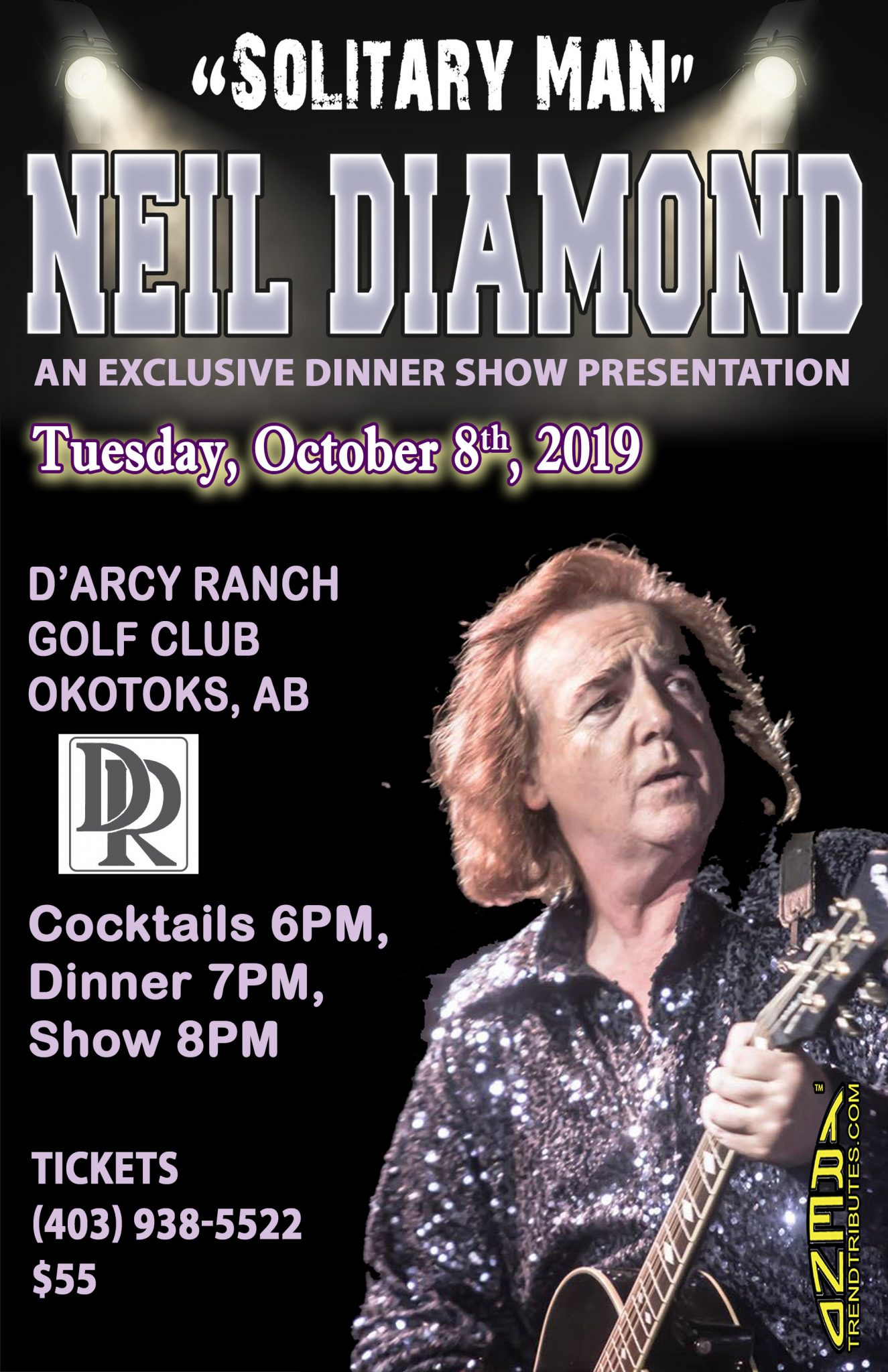 Book your ticket for Neil Diamond Tribute