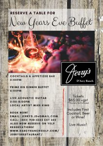 Spend New Year's Eve with us.